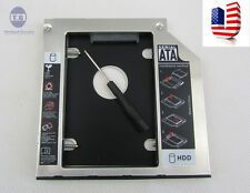 2nd HDD SSD hard disk caddy SATA 9.5mm Dell Alienware M15X M14X M17X M14Z L401X