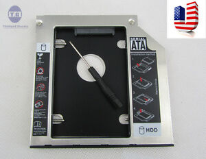 New SATA 2nd Hard Drive HDD SSD caddy tray for Lenovo Thinkpad T440p T540p W540