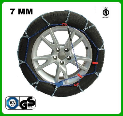 01//2012-/> CATENE DA NEVE 7MM 205//55 R16 SEAT LEON