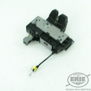 Volvo-OEM-Rear-Trunk-Latch-Lock-Assembly-31253963-w-Cable-for-XC90-03-14