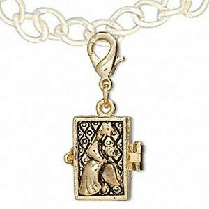 Gold Plated Angel Prayer Wish Box Pewter Locket Jewelry Pendant eBay