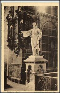 BREMEN-1910-AK-Dom-Kirche-Christus-Statue-von-Dausch