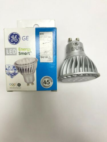 240V LED DIAMMABLE GU10 35D 3000K 98723 GE 6W 50W EQI