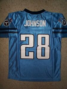 Details about Tennessee Titans CHRIS JOHNSON nfl Jersey YOUTH KIDS BOYS CHILDRENS (4-5)