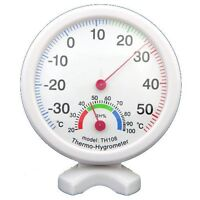 Hygrometer Humidity Thermometer Temp/Temperature Meter ED