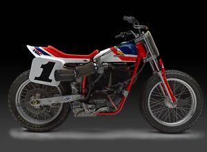 24-034-X-30-034-High-Definition-PHOTOGRAPH-Poster-of-Honda-RS750-Flat-Tracker