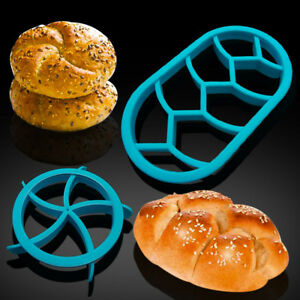 1-2-Pcs-Bread-Molds-Plastic-Dough-Pastry-Cutter-Cookie-Biscuit-Press-Mould