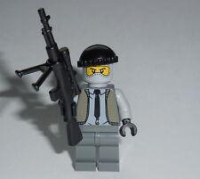 "ARMY/WAR Lego ""Sniper / Hitman"" w/Rifle NEW WWII -ba- Civilian Camo Genuine Lego"