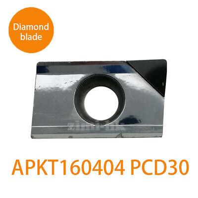 APKT 2p APKT160404 PCD30 Used for Aluminum  Polycrystalline diamond tools PCD