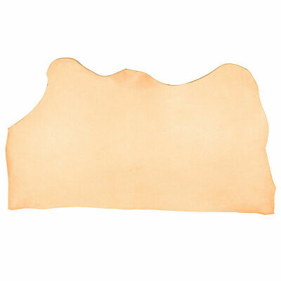 """Black Vegetable Tan Cowhide Tooling Leather 4-5oz Pre-Cut Project Piece 8.5/""""x11/"""""""