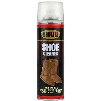 6x zapatillas zapatos botas SPRAY LIMPIADOR PIEL ANTE UGG cuero nobuk Tela