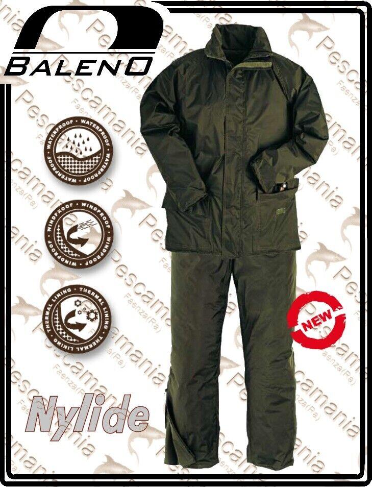 Completo termico baleno giacca  + pantalone Bergen impermeabile antivento termico  Las ventas en línea ahorran un 70%.
