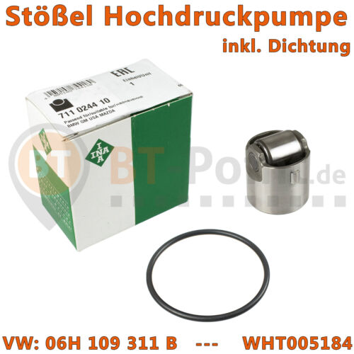 Joint O-Ring pompe haute pression 711024410 suiveur TFSI Gobelet Galet Original Ina