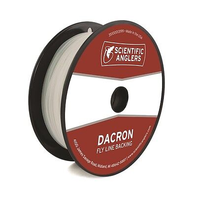 New Color Orange 20lb // 100 yards Scientific Anglers Dacron Fly Line Backing