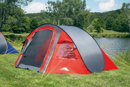 Pop-Up-Zelt FLEXI rot Campingzelt