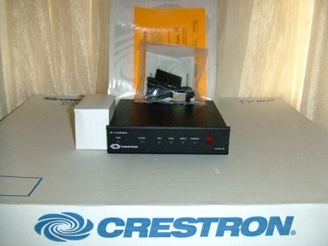 CRESTRON CNXLIR MODULE  IR SERIAL LEARNER with new power supply