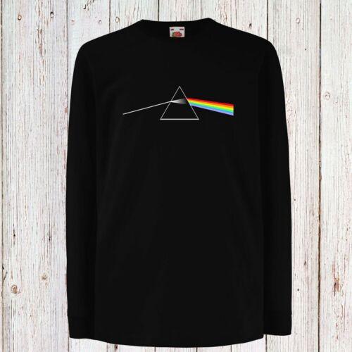 Kid//Children//Teenage Pink Floyd 2 Progressive Rock Black T-Shirt Long//Short Sleeve