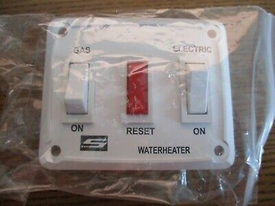 Suburban MFG 232882 RV Part Gas-Electric Water Heater Wall Power Switch Assembly