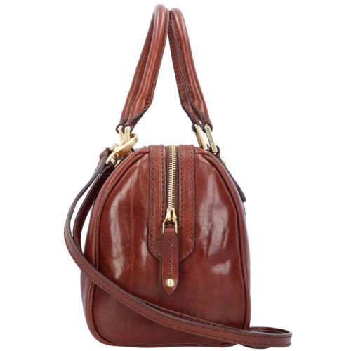 Donna Leather marrone Barrel 25 Tote 8033748104466 Cm Broen Story Bag 5SUqxIw