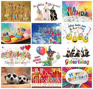 Geburtstagskarten-Set-2-24-Glueckwunschkarten-zum-Geburtstag-12-Motive-x-2-St