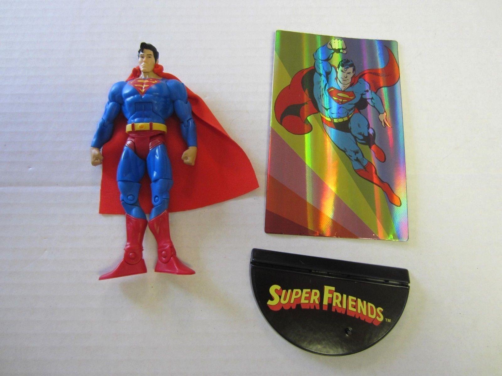 Superman Action Figure 6 1 2  DC Comics Multiverse Super Friends k