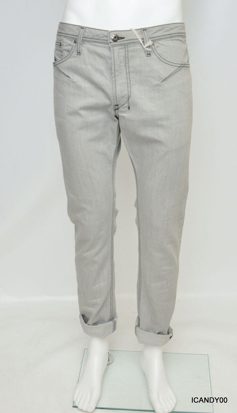 Diesel Shioner Men's Skinny Leg Slim Fit Jeans Pants Trousers 0RZ43 34-32 Nwt