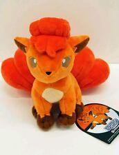 "Pokemon Center 7"" VULPIX Plush RARE Stuffed Animal Fire Ninetails Pokémon Go USA"