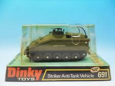 DINKY TOYS MILITARY STRIKER ANTI-TANK VEHICLE 691 MINT BOXED