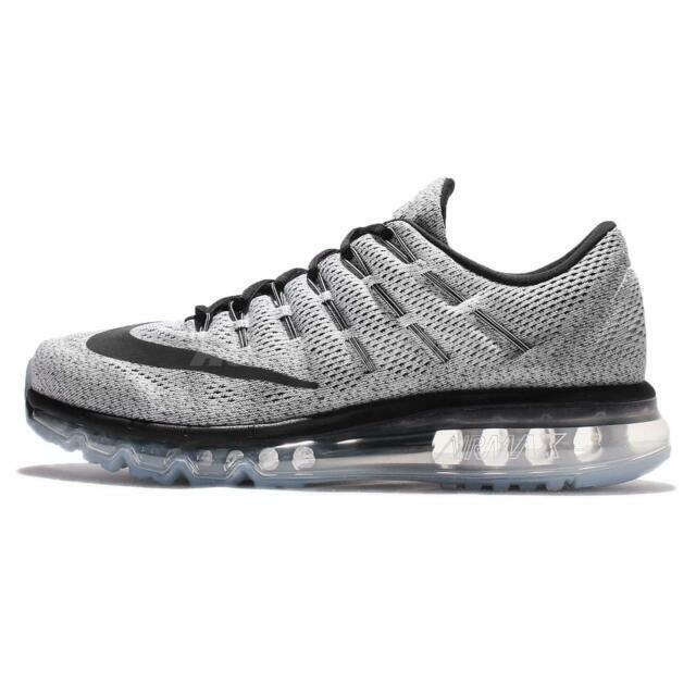 Size 11 - Nike Air Max 2016 White Black for sale online   eBay