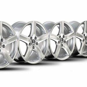 Original-17-Zoll-Alufelgen-VW-EOS-Passat-3C-CC-Scirocco-Golf-5-6-Felgen-Avignon