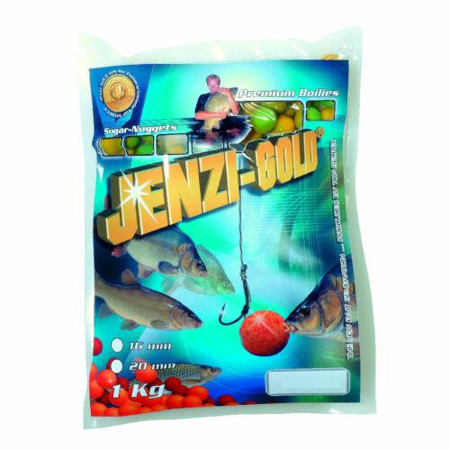 Jenzi Boilies Sugar Nuggets Premium Sahne-Vanille 1kg Karpfenköder Köder angeln