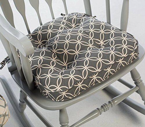 Genial Adjustable Foot Rest Comfy Relax Lounge Seat Rocking Chair Cushion  Modern,Black | EBay
