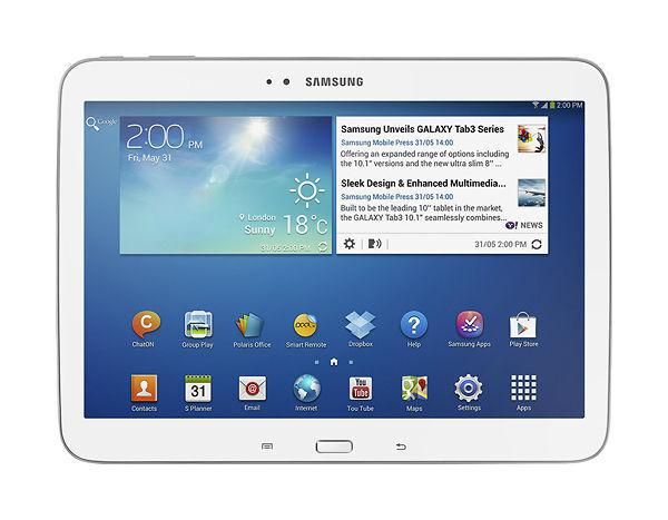Tablet PC Samsung Galaxy Tab 3 GT-P5210 16 Go, Wi-Fi (Aucune capacité cellulair…