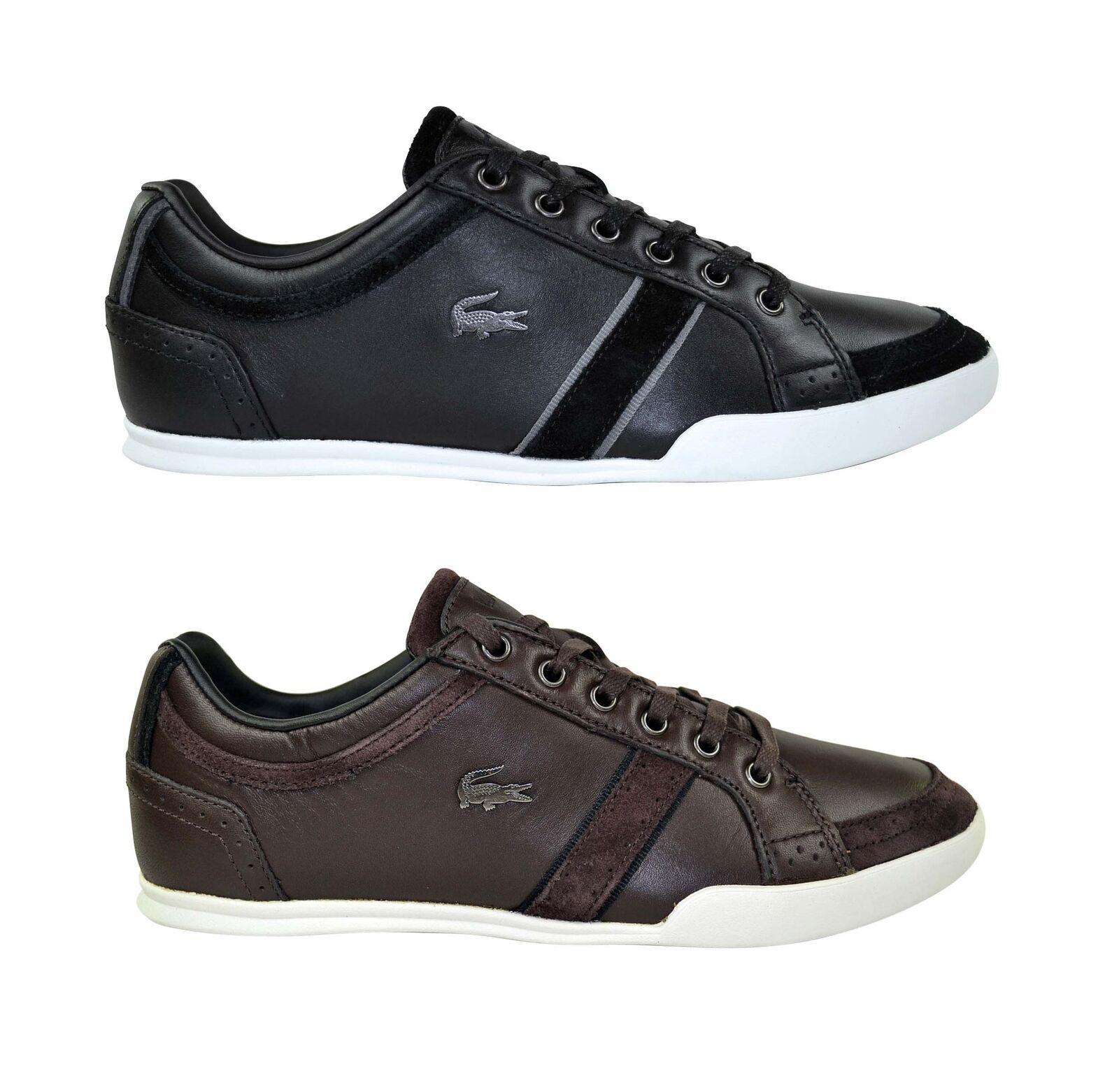 Lacoste Rayford Brogue SRM black dark brown Schuhe schwarz braun Sale