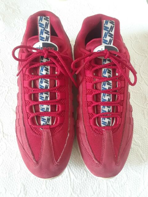 Size 12 - Nike Air Max 95 TT Pull Tab Gym Red 2018 for sale online ...