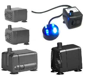 Hidom-submersible-aquarium-petite-Eco-Fish-Tank-pompe-a-eau-amp-fonction-200-1000-lph