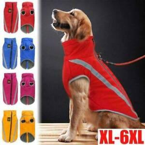 Manteau-Pour-Chien-Gilet-D-039-hiver-Impermeable-Veste-Chaude-Medium-Large-Dog