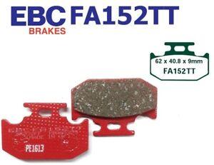 93-00 Dual CBS 1x Bremsbeläge hinten Lucas MCB 658 Honda CBR 1000 F SC24 Bj