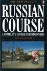 Russian Course : A Complete Course for Beginners by Nicholas Brown and Nicholas J. Brown (1996, Paperback)