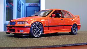 BMW-E36-racing-320i-1-18-model-car-rare-motorsport-collector