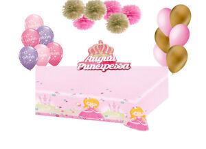 Decorazioni Fai Da Te Per Feste : Set addobbi festa a tema princess principessa decorazioni fai da