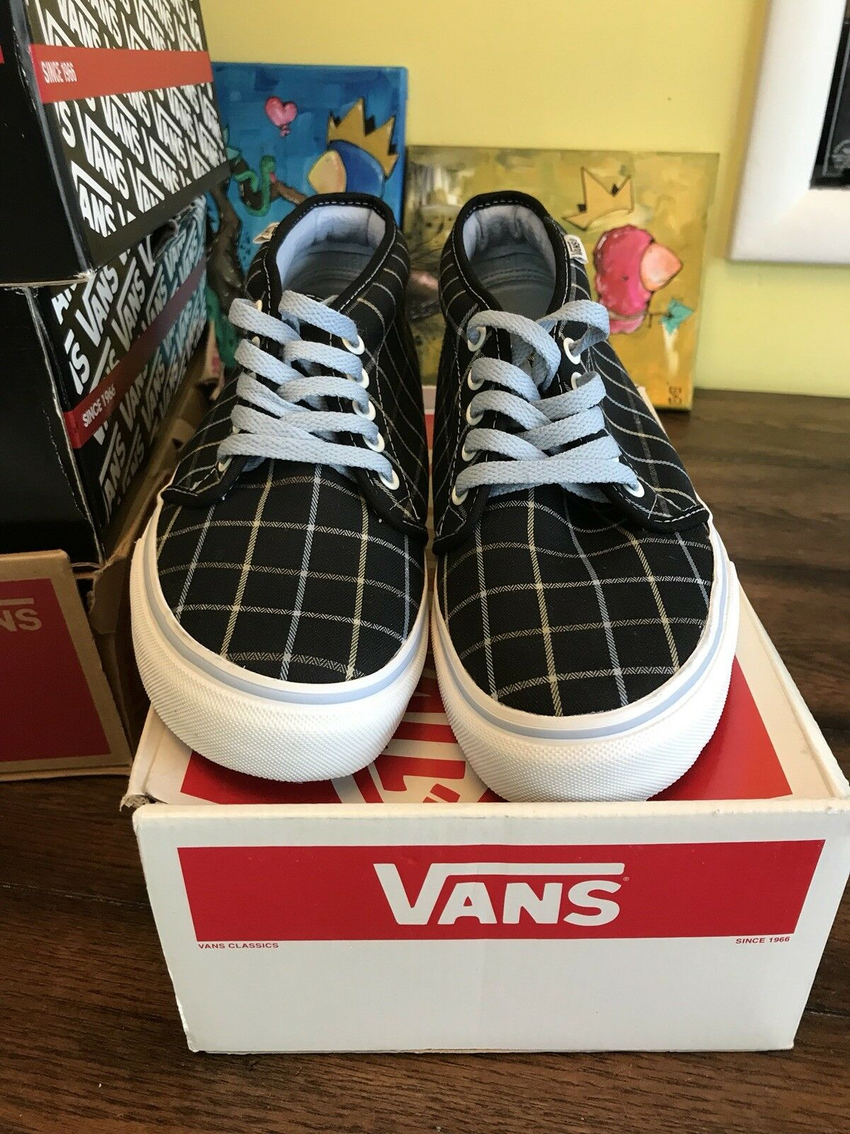06 Vans Chukka Boot Plaid  42
