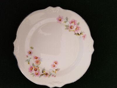 Vintage Homer Laughlin Virginia Rose JJ59 Moss Rose Pattern 9 12 Inch luncheon Plate