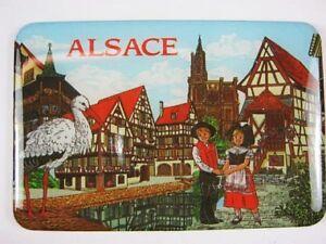 Alsace-Elsass-Magnet-Frankreich-Souvenir-France-7-5-cm-Kuehlschrankmagnet-Fridge