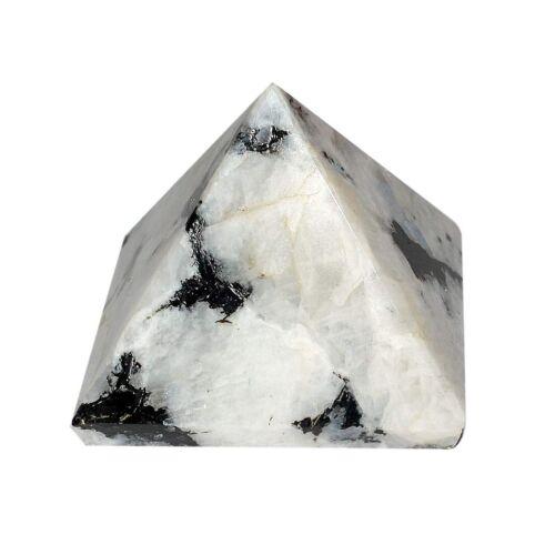 Natural Crystal Pyramid Gemstone Pyramid for Reiki Healing and Crystal Healing
