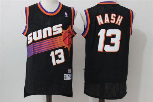 Vtg Rare Phoenix Suns #13 Steve Nash Men/'s Throwback Swingman Jersey Sportswear