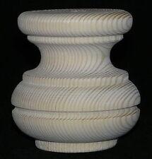Confezione da 4 Alto In legno Legno Di Pino Mobili Bun Feet 80mm d. 85mm alto