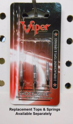 1-4 Viper Spinster Shockwave Rotating/Retracting Dart Shafts Choice of 4 Colors