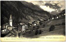 Cartolina Formato Piccolo - Valtournanche - Hotel Royal E Panorama m. 1450 Viagg