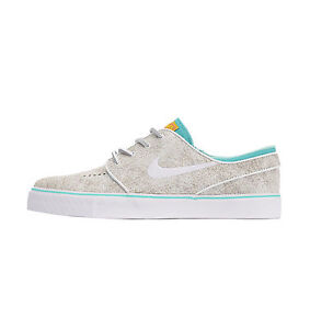 Nike ZOOM STEFAN JANOSKI ELITE White Black Hyper Jade Discounted (549) Mens Shoe
